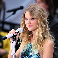 Taylor Swift <br /> 2009 on NBC's Today Show<br /> Photo By John Barrett/CelebrityArchaeology.com