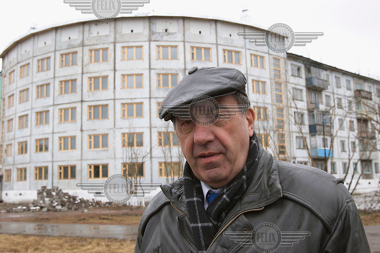 The Mayor of Vorkuta, Igor Leonidovich Shpektor. The mayor wants to create a gulag complex in the town where tourists would be able to stay and learn about gulag history.