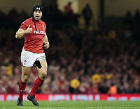 Wales' Leigh Halfpenny<br /> <br /> Photographer Simon King/CameraSport<br /> <br /> International Rugby Union - 2017 Under Armour Series Autumn Internationals - Wales v Australia - Saturday 11th November 2017 - Principality Stadium - Cardiff<br /> <br /> World Copyright &copy; 2017 CameraSport. All rights reserved. 43 Linden Ave. Countesthorpe. Leicester. England. LE8 5PG - Tel: +44 (0) 116 277 4147 - admin@camerasport.com - www.camerasport.com