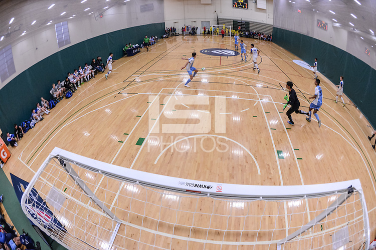 Chicago, IL. - January 31, 2015: U-14 Futsal Showcase at Quest Multisport Complex.