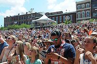 11 June 2016 - Nashville, Tennessee - Crowd. 2016 CMA Music Festival Riverfront Stage. Photo Credit: Dara-Michelle Farr/AdMedia