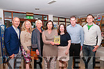 """Poetry Book Launch : Pictured at the launch of Margaret Thornton's book of poetry """"The Visitors"""" at the Seanchai Centre, Listowel on Friday evening last were Kieran & Marilyn Moynihan, Jacinta Dalton, Margaret Thornton, Mary Murphy, John Dee & Brian O'Shea."""