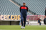 28 May 2010: Goalkeeper coach Zak Abdel. The United States Men's National Team held a practice session at Lincoln Financial Field in Philadelphia, Pennsylvania the day before playing Turkey in their final home friendly prior to the 2010 FIFA World Cup in South Africa.