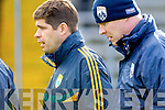 Kerry manager Eamon Fitzmaurice at their round Two of the National Football league game against Derry at Fitzgerald Stadium, Killarney on Sunday the 9th of February.