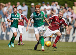 30.06.18 Linlithgow Rose v Hibs: Simon Murray and Darren Smith