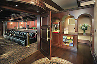 Extensive Home Theater With Concession Stand