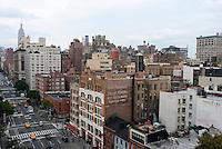 New York, NY -  6 Oct 2012 Buildings along Sixth Avenue.