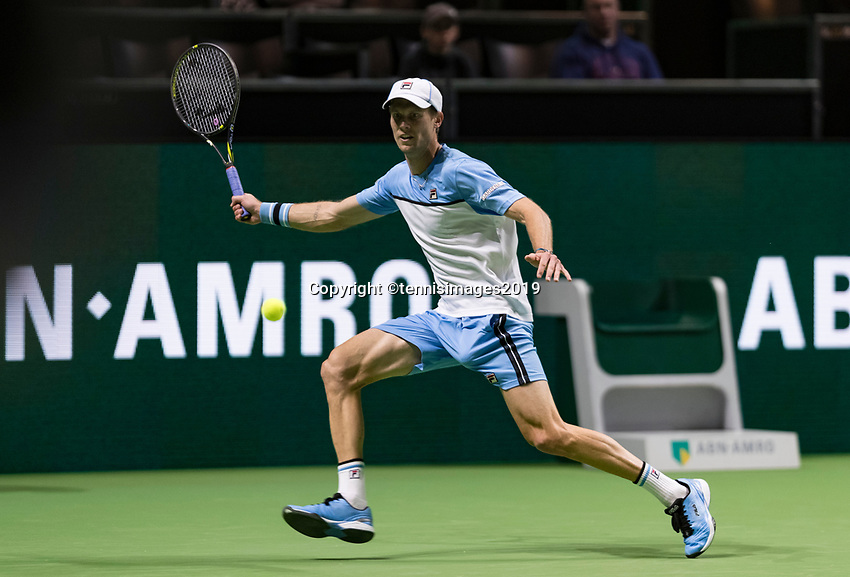 Rotterdam, The Netherlands, 11 Februari 2019, ABNAMRO World Tennis Tournament, Ahoy, first round match: Andreas Seppi (ITA),<br /> Photo: www.tennisimages.com/Henk Koster