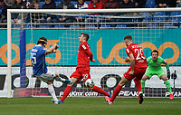 Yannick Stark (SV Darmstadt 98) schiesst - 07.03.2020: SV Darmstadt 98 vs. VfL Bochum, Stadion am Boellenfalltor, 2. Bundesliga<br /> <br /> DISCLAIMER: <br /> DFL regulations prohibit any use of photographs as image sequences and/or quasi-video.