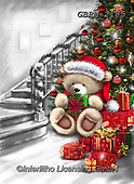 Roger, CHRISTMAS ANIMALS, WEIHNACHTEN TIERE, NAVIDAD ANIMALES, paintings+++++,GBRM2185,#xa#
