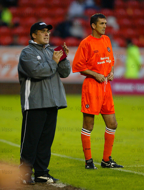 Owen Coyle, Dundee Utd.Stock season 2003-2004..pic willie vass