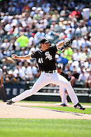 August 15 2008:  Pitcher Lance Broadway of the Chicago White Sox during a game at U.S. Cellular Field in Chicago, IL.  Photo by:  Mike Janes/Four Seam Images