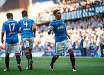 James Tavernier celebrates his goal