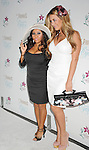 "MARINA DEL REY, CA. - September 27: Nicole ""Snooki"" Polizzi and Aubrey O'Day arrive at the ""Beautiful Eyes"" By Frownies Launch Party at the FantaSea Yacht Club on September 27, 2010 in Marina Del Rey, California."