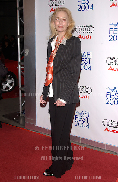 Nov 5, 2004; Los Angeles, CA, USA;  Actress SALLY KELLERMAN at the USA premiere of Beyond the Sea. The movie was the opening night film for the 2004 AFI Fest.