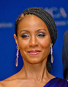 Actress Jada Pinkett Smith arrives for the 2016 White House Correspondents Association Annual Dinner at the Washington Hilton Hotel on Saturday, April 30, 2016.<br /> Credit: Ron Sachs / CNP<br /> (RESTRICTION: NO New York or New Jersey Newspapers or newspapers within a 75 mile radius of New York City)