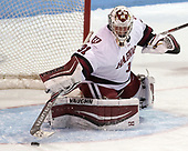 Beth Larcom (Harvard - 31) - The Harvard University Crimson tied the Boston University Terriers 6-6 on Monday, February 7, 2017, in the Beanpot consolation game at Matthews Arena in Boston, Massachusetts.