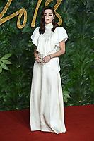 LONDON, UK. December 10, 2018: Jenna Coleman at The Fashion Awards 2018 at the Royal Albert Hall, London.<br /> Picture: Steve Vas/Featureflash