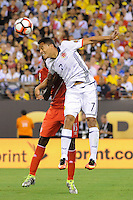 East Rutherford, NJ - Friday June 17, 2016: Carlos Bacca after a Copa America Centenario quarterfinal match between Peru (PER) vs Colombia (COL) at MetLife Stadium.