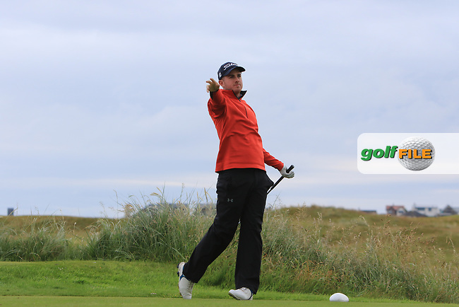 Jack Hearn during Round 2 of the North of Ireland Amateur Open Championship 2019 at Portstewart Golf Club, Portstewart, Co. Antrim on Tuesday 9th July 2019.<br /> Picture:  Thos Caffrey / Golffile<br /> <br /> All photos usage must carry mandatory copyright credit (© Golffile | Thos Caffrey)