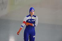 SCHAATSEN: GRONINGEN: Sportcentrum Kardinge, 17-01-2015, KPN NK Sprint, Thijsje Oenema, ©foto Martin de Jong