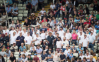 The Barmy Army tuned up early during Australia vs England, ICC World Cup Semi-Final Cricket at Edgbaston Stadium on 11th July 2019