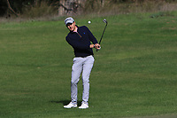Mathieu Fenasse (FRA) on the 4th during Round 3 of the Challenge Tour Grand Final 2019 at Club de Golf Alcanada, Port d'Alcúdia, Mallorca, Spain on Saturday 9th November 2019.<br /> Picture:  Thos Caffrey / Golffile<br /> <br /> All photo usage must carry mandatory copyright credit (© Golffile | Thos Caffrey)
