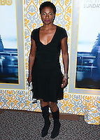 LOS ANGELES, CA, USA - NOVEMBER 04: Adina Porter arrives at the Los Angeles Season 3 Premiere Of HBO's Series 'The Newsroom' held at the DGA Theatre on November 4, 2014 in Los Angeles, California, United States. (Photo by Xavier Collin/Celebrity Monitor)