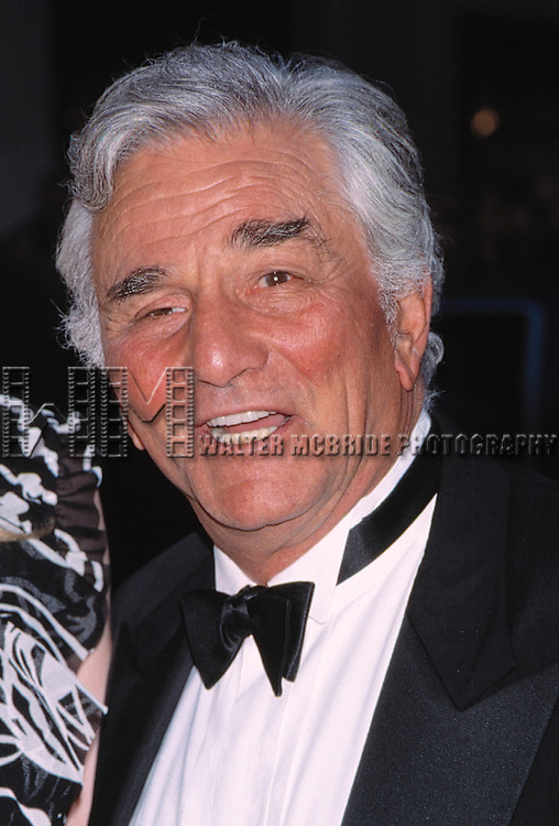 Peter Falk at the 2002 NBC 75th Anniversary in New York City.