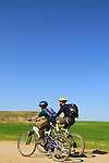 Israel, Negev, cycling in Beeri