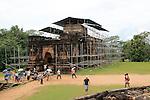 Thuparama building, The Quadrangle, UNESCO World Heritage Site, the ancient city of Polonnaruwa, Sri Lanka, Asia