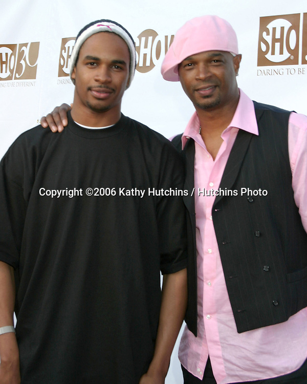 Damon Wayans  and son Damon Wayans JR.Showtime TCA Party.Padadena, CA.July 14, 2006.©2006 Kathy Hutchins / Hutchins Photo....
