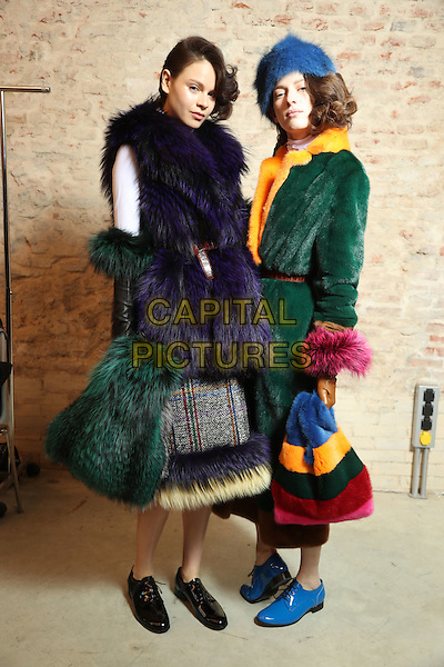 SIMONETTA RAVIZZA<br /> at Milan Fashion Week FW 17 18<br /> in Milan, Italy  February 2017.<br /> CAP/GOL<br /> &copy;GOL/Capital Pictures