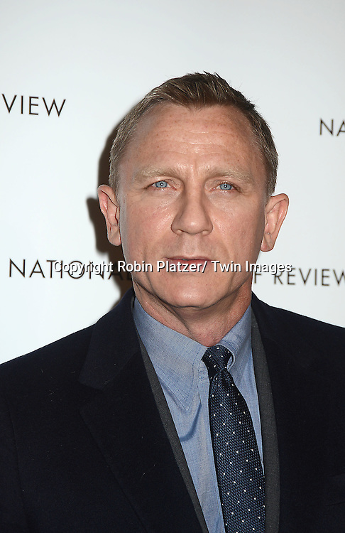 Daniel Craig attends the 2013 National Board of Review Awards Gala on January 8, 2013 at Cipriani 42nd Street in New York City.