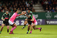 Frank Halai of Pau  during the Challenge Cup match between Section Paloise and Stade Francais on March 30, 2018 in Pau, France. (Photo by Manuel Blondeau/Icon Sport)