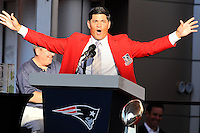 2013 Patriots Hall Of Fame Induction