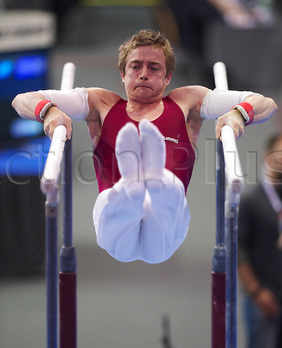 07 04 2011  Gymnastics Berlin 07 04 2011 European Championship euro Qualification Bars Vid Hidvegi Hun Gymnastics Artistic