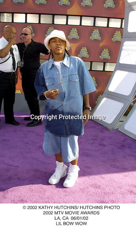 © 2002 KATHY HUTCHINS/ HUTCHINS PHOTO.2002 MTV MOVIE AWARDS.LA, CA  06/01/02.LIL BOW WOW