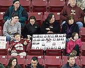 - The Boston College Eagles defeated the visiting St. Lawrence University Saints 6-3 (EN) in their NCAA Quarterfinal match on Saturday, March 10, 2012, at Kelley Rink in Conte Forum in Chestnut Hill, Massachusetts.