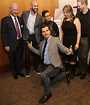 Gregory S. Hurst, Lea Salonga, John Leguizamo, Irene Sankoff, David Hein attends the Theatre Forward Broadway Roundtable on February 2, 2018  at UBS in New York City.