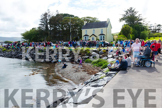 The sun brought a great crowd out to watch the Valentia Regatta on Monday.