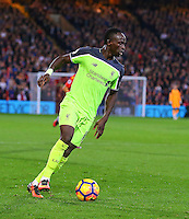 Sadio Mane  during the EPL - Premier League match between Crystal Palace and Liverpool at Selhurst Park, London, England on 29 October 2016. Photo by Steve McCarthy.