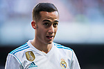 Lucas Vazquez of Real Madrid reacts during the La Liga 2017-18 match between Real Madrid and Deportivo Alaves at Santiago Bernabeu Stadium on February 24 2018 in Madrid, Spain. Photo by Diego Souto / Power Sport Images