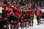 09.04.2019, Lanxessarena, Köln, GER, DEL Playoffs, Kölner Haie - Adler Mannheim, im Bild<br /> Mannschaft Köln enttäuscht<br /> <br /> Foto © nordphoto / Mueller