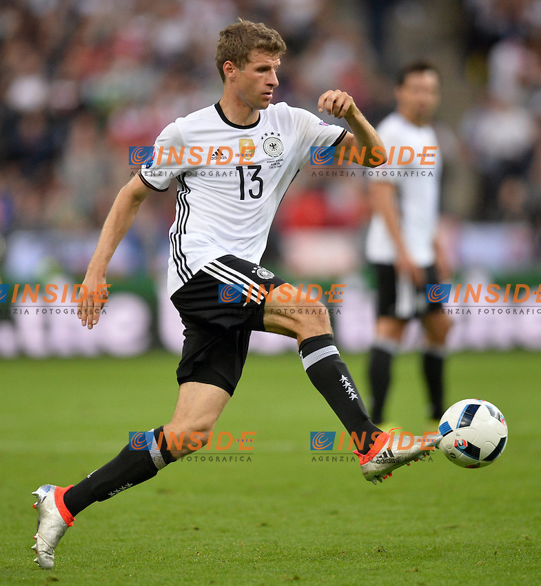 Thomas Muller (ger) <br /> Paris 16-06-2016 Stade de France Football Euro2016 Germany - Poland / Germania - Polonia Group Stage Group C. Foto Anthony Bibard / Panoramic / Insidefoto