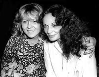 Brenda Vaccaro Diane Von Furstenberg at Studio 54 1977<br /> Photo By Adam Scull/PHOTOlink.net