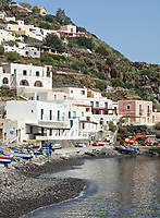 ITA, Italien, Sizilien, Liparischen Inseln, Insel Alicudi: Hafen der westlichsten Insel | ITA, Italy, Sicily, Aeolian Islands or Lipari Islands, island Alicudi: harbour of the most western island