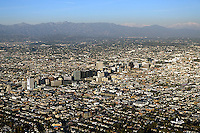 aerial photograph Century City, Los Angeles, California