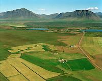 Jörfi séð til norðurs, Borgarbyggð áðurKolbeinsstaðahreppur..Jorfi, viewing north, Borgarbyggd former  Kolbeinsstadahreppur