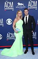 07 April 2019 - Las Vegas, NV - Miranda Lambert, Brendan McLoughlin. 2019 ACM Awards at MGM Grand Garden Arena, Arrivals. Photo Credit: mjt/AdMedia